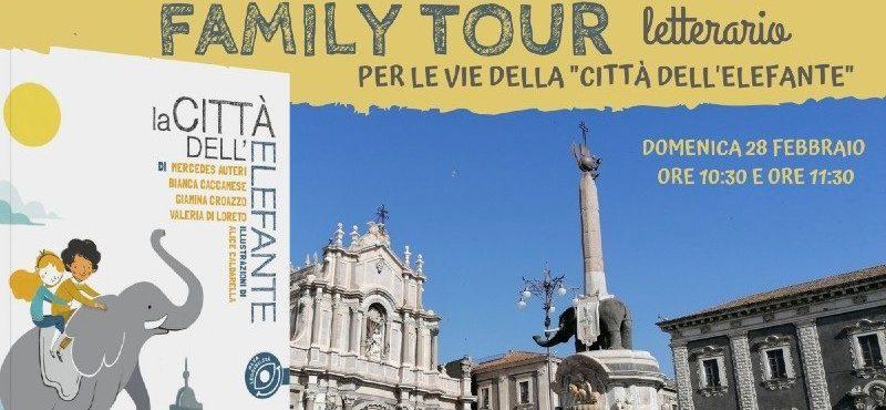 FAMILY TOUR letterario per le vie della Città dell'Elefante – 10:30
