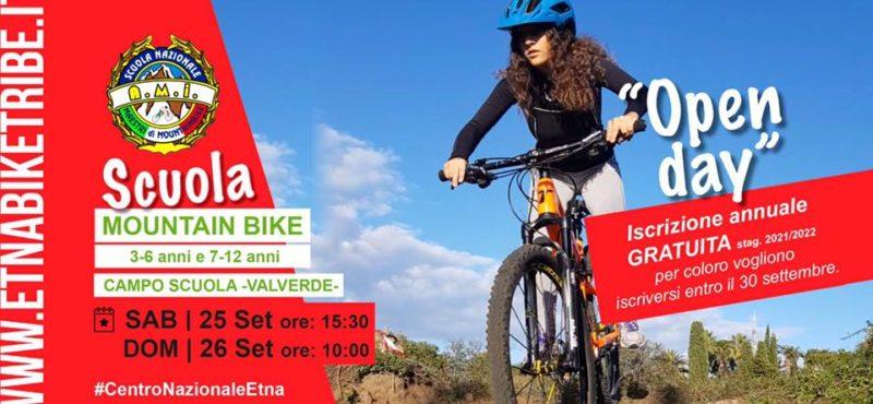 OPEN DAY sabato- Scuola MTB Etna Bike Tribe